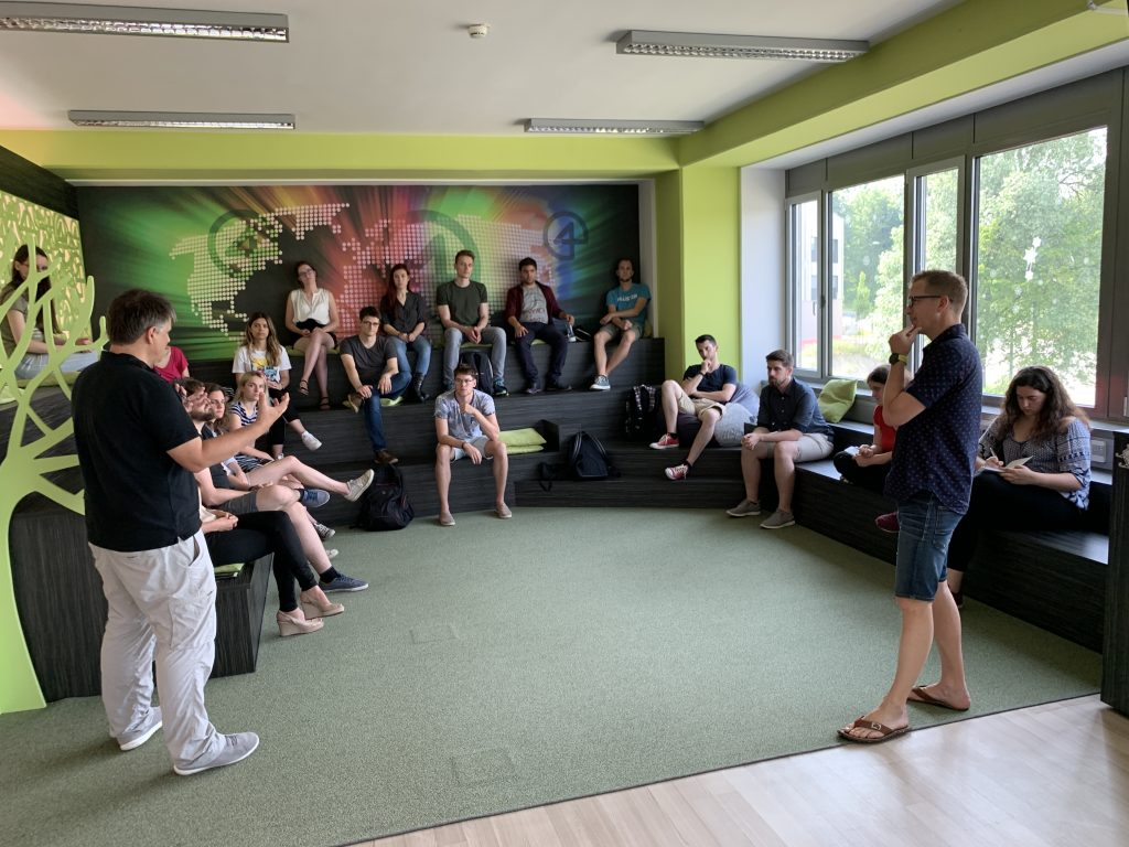 Meet up with the participants of the Summer Challenge.