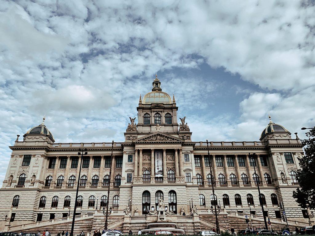 The National museum of Prague.