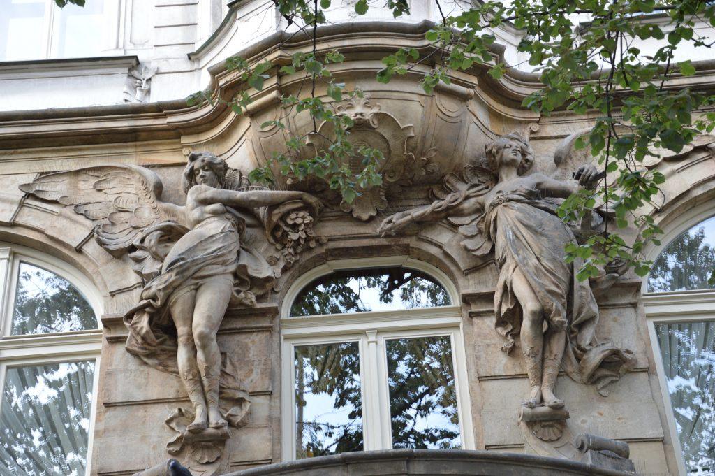 Building of Prague.